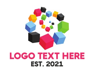 Postal Service - Box Spiral logo design
