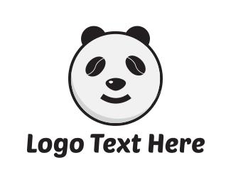 Panda - Bean Panda logo design