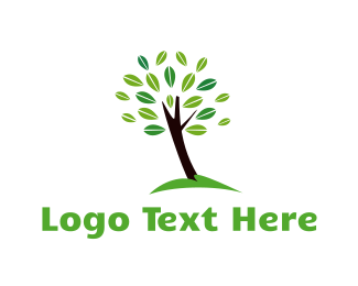 Garden - Lush Tree logo design