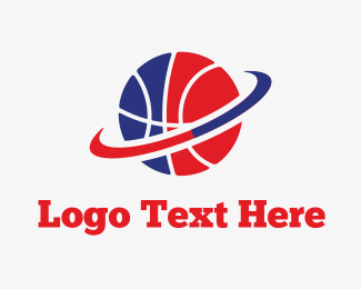 Sports Betting - Basketball & Hoop logo design