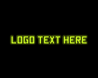 Virus - Tech Glow logo design