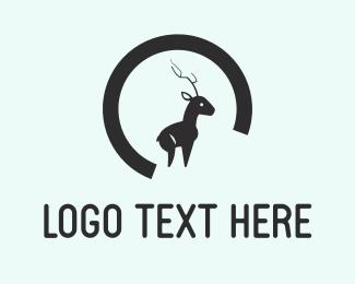 Antelope - Baby Elk logo design