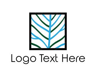 Twig - Square Tree logo design