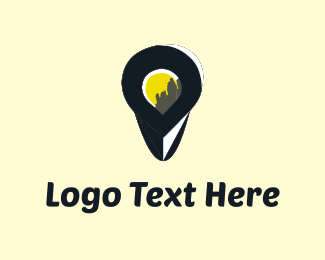 Location - City Finder logo design