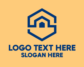Establishment - Hexagon Warehouse  logo design