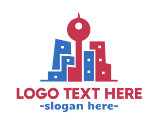 Hipster - Hipster City logo design