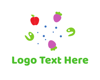 Berry - Apple & Berries logo design