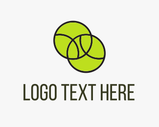 Recreation - Tennis Balls logo design