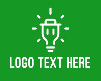 Trash - Bright Trash logo design
