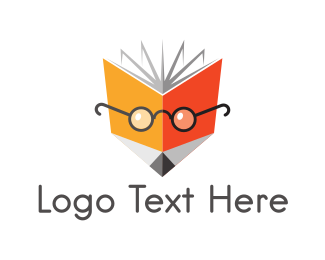 Notebook - Nerd Fox Book logo design