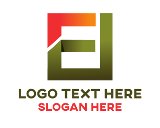 Abstract - Abstract E logo design