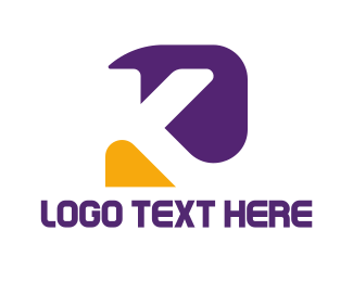 Bold - Abstract Letter K logo design
