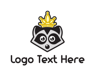 King Raccoon Logo
