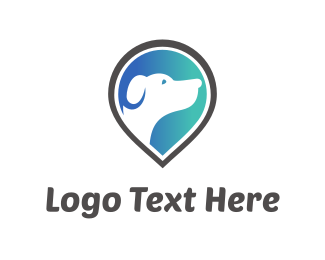 Location - Dog Finder logo design