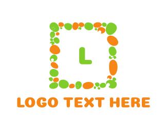 Frame - Pebble Square logo design
