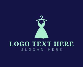 Skirt - Mint Dress logo design