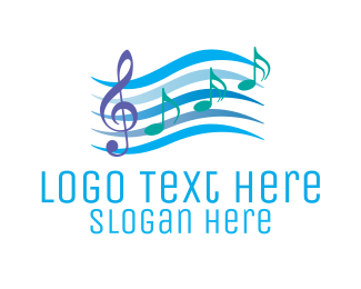 Musical - Musical Notes logo design