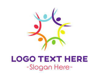 Union - Colorful Star Team logo design