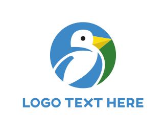 Farming - Bird Circle  logo design