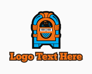 Jukebox - Colorful Jukebox logo design