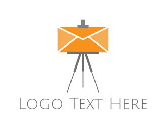 Email - Easel Mail logo design