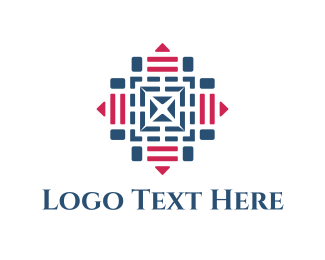 Pyramid - Target Maze logo design