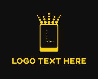 Smartphone - Mobile King logo design
