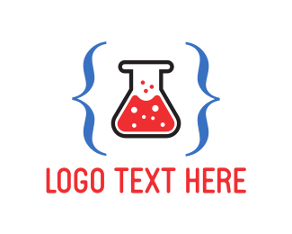 Programming - Code Lab  logo design