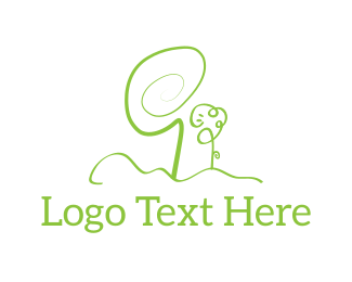 Home And Garden - Green Garden logo design