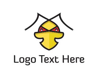 Bad - Evil Duck logo design
