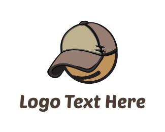 Hack - Boy Cap logo design