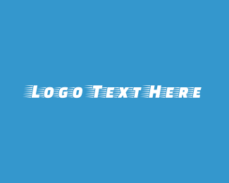 Airplane - Fast Airplane logo design