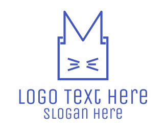 Oriental - Box Animal logo design