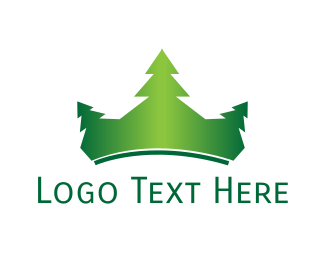 Pine - Pine Crown logo design