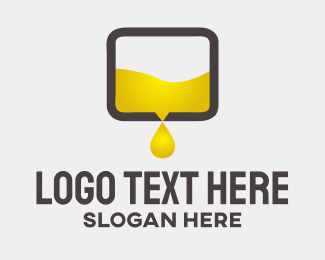 Petroleum - Oil Box logo design