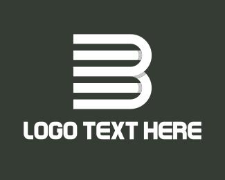 Nyc - Minimalistic Letter 3B logo design