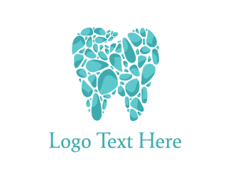 Dental - Tooth Mosaic logo design