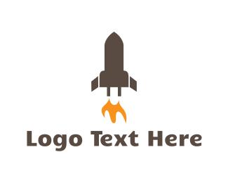 Charger - Rocket Battery logo design