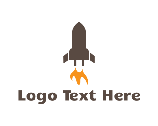 Charger - Rocket Battery logo design