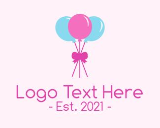 Balloon - Party Balloons logo design
