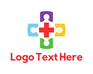 Cross - Colorful Cross logo design