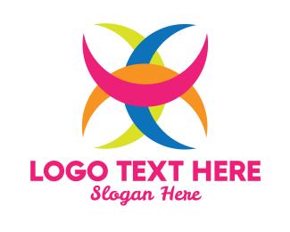 Crescent - Colorful Crescent  logo design
