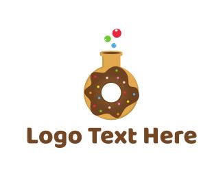 Doughnut - Donut Lab logo design