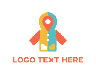 Location - Point Coat logo design