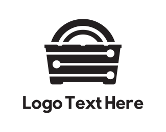 Furniture - Black Furniture logo design