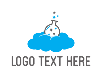 Magic - Cloud Lab logo design