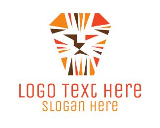Tough - Tough Orange Lion logo design