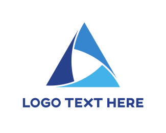 Company - Blue Triangle logo design
