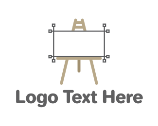 Graphic - Vector Easel logo design