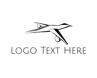 Jet - Duck Plane logo design